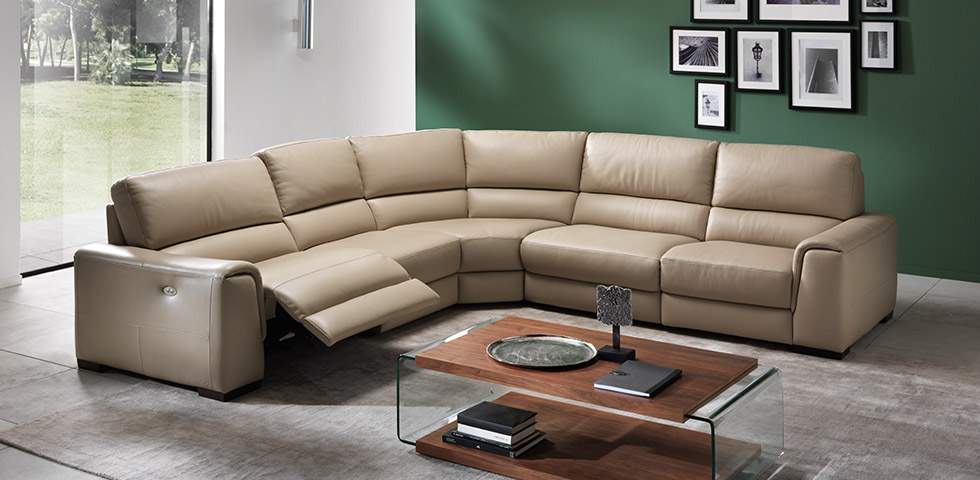 top grain leather living room furniture