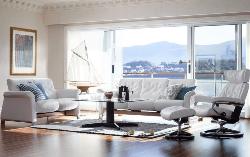 designer leather sofas
