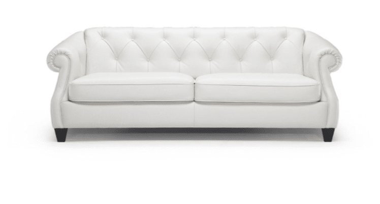 should i buy a white leather sofa