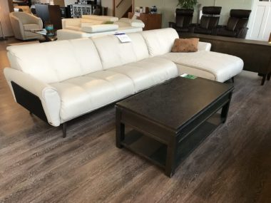 Natuzzi B993 Cream Sectional